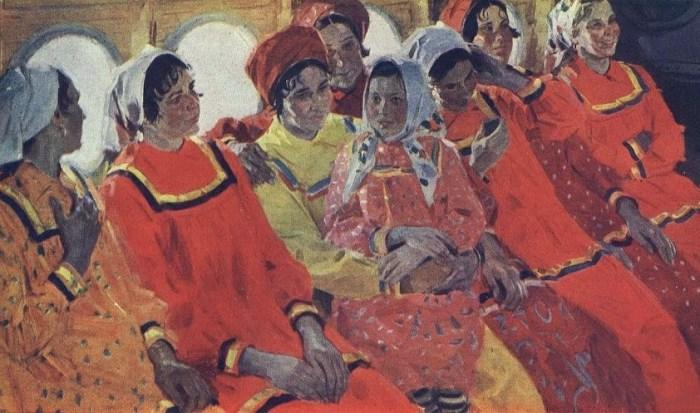 У російському Єкатеринбурзі відвідувачки художньої виставки пошкодили картини Сальвадора Далі та Франсіско Гойї, намагаючись зробити фото - Цензор.НЕТ 1628