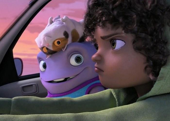 Кадр из мультфильма «Home»./ Фото: derbent.tv