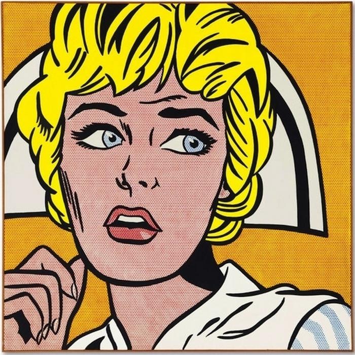 «Медсестра», Рой Лихтенштейн