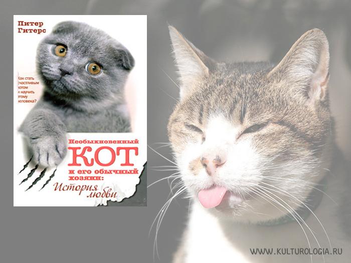 Необыкновенный кот и его обычный хозяин: история любви. Питер Гитерс.