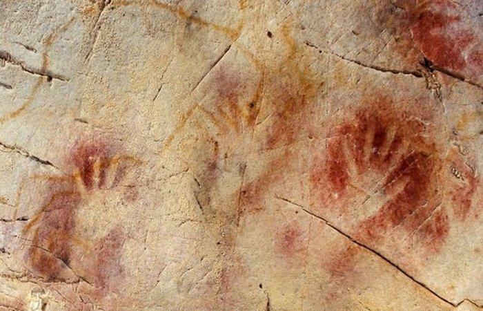 Наскальная живопись: загадка неандертальцев.