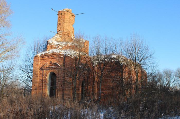 Церковь Архангела Михаила. Село Гудаловка (Тульская область)