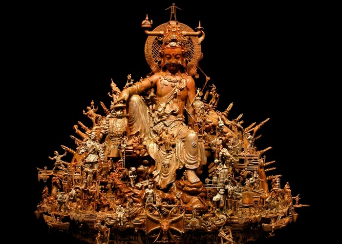 Буддийские мотивы.