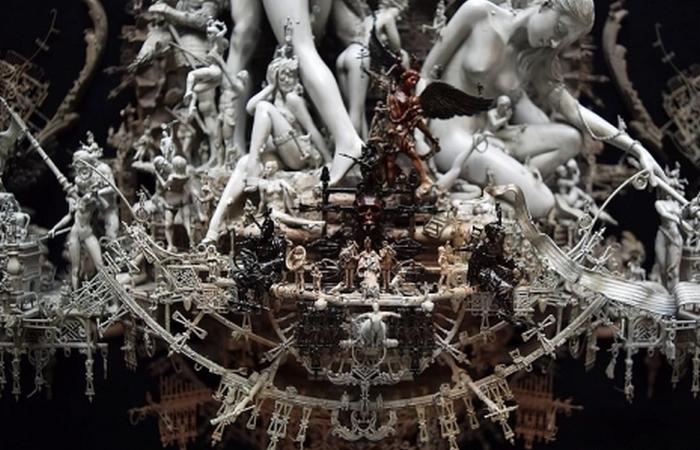 Фрагмент скульптуры «Восхищение».