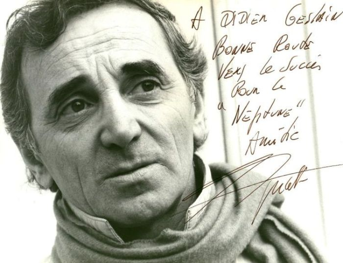 Шарль Азнавур - армянский идол французской песни.