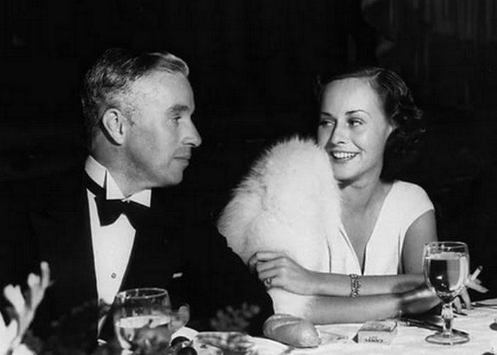 Чарли Чаплин и Полетт Годдар: «Ты научила меня любить и прощать»