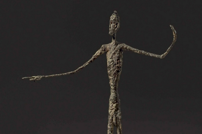 «Указующий человек», Альберто Джакометти