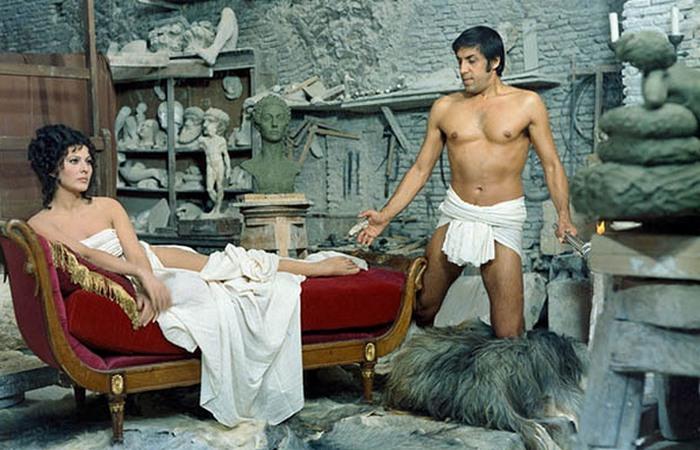 На съемках фильма «Странный тип», где родилась великая любовь / Фото: larioarea.livejournal.com
