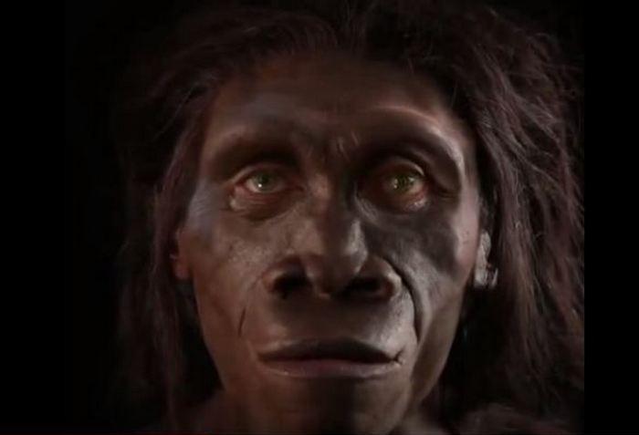 Как изменялось лицо человека.