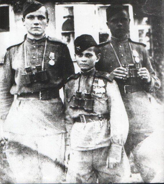 Володя Тарновский, Берлин, 1945.