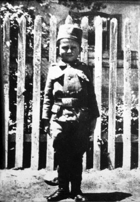 Момчило Гаврич, Корфу, 1916.