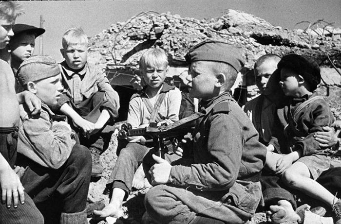 Советские дети Великой Отечественной.