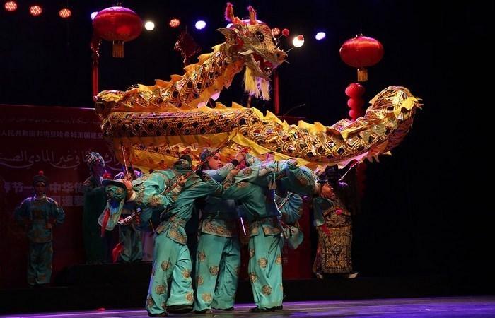 Аллюзия в китайской опере.