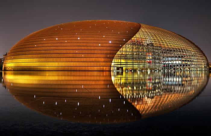Национальный театр в Пекине.