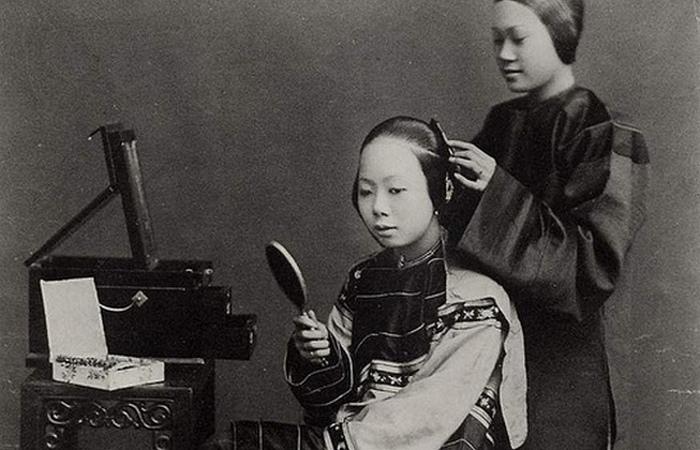 Очаровательные китаянки на старых фотографиях.