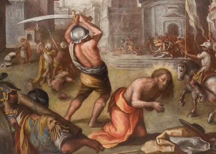 Жесткая казнь: обезглавливание.