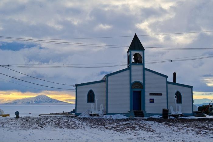 Церковь снегов.