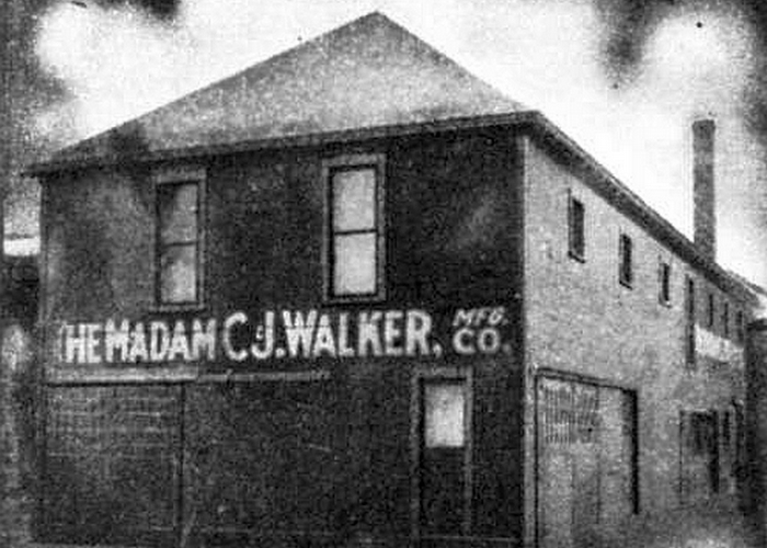 CJ Walker Manufacturing Company, Индианаполис, 1911 год./фото: thevintagenews.com