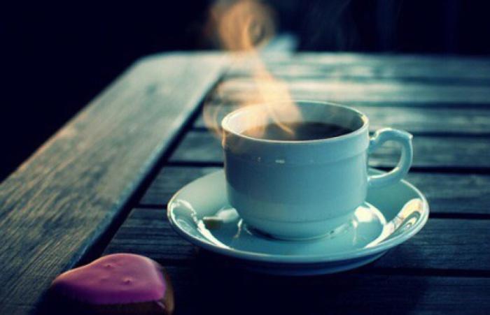 Пил свой кофе, листал роман...