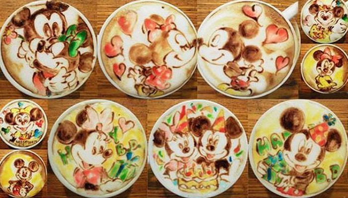 «Кофейный» художник Mattsun.