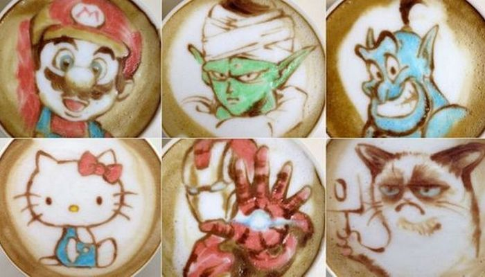 «Кофейный» художник Науту Суджи.