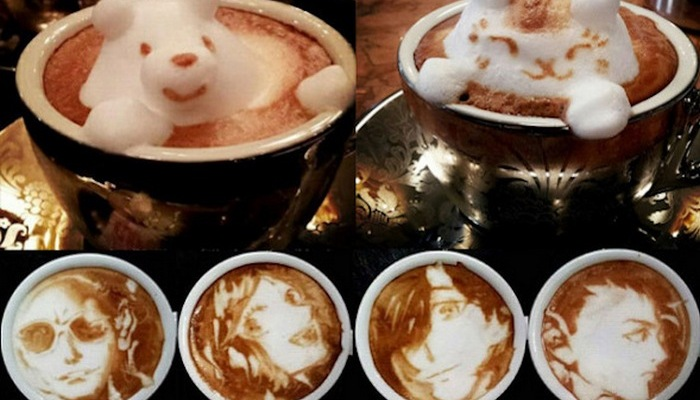 «Кофейный» художник Кадзуки Ямамото.