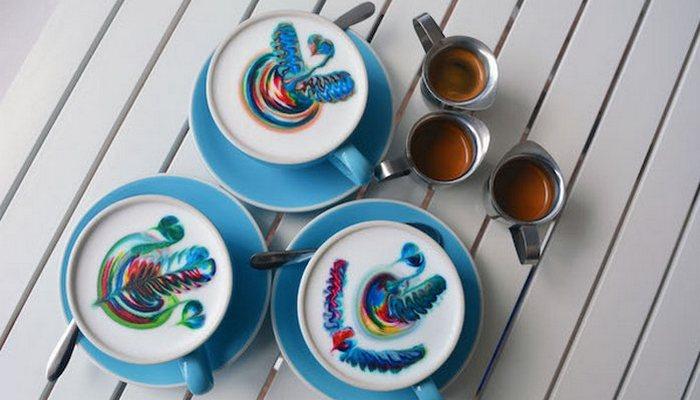 «Кофейный» художник Эмили Коамбис.
