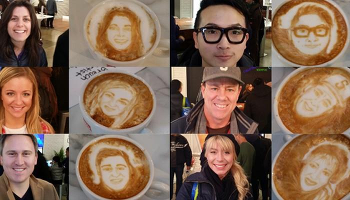 «Кофейный» художник Майкл Брич.