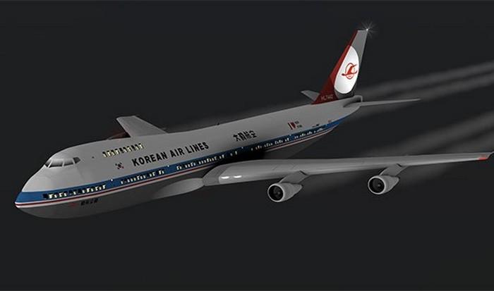 Корейский гражданский Boeing 747 (рейс 007).  фото: list25.com