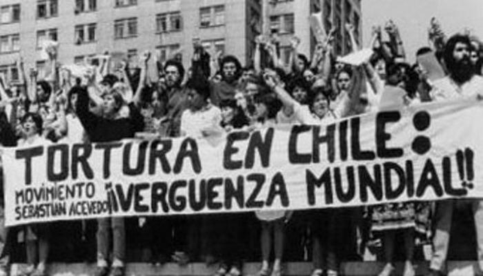 Протесты в Чили. Осторожно, нацизм.