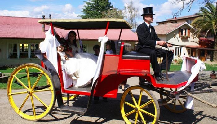 Свадебный экипаж.