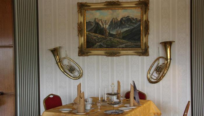 Ресторан в Дигнидаде.