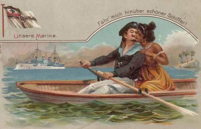 Бравый морячок.