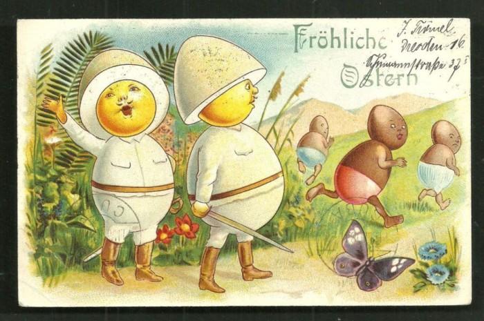 Счастливой Пасхи из немецких колоний.