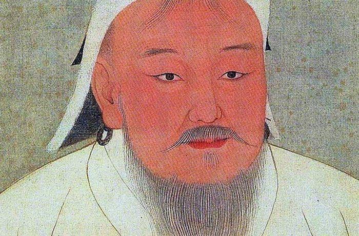 Темуджин Чингисхан.