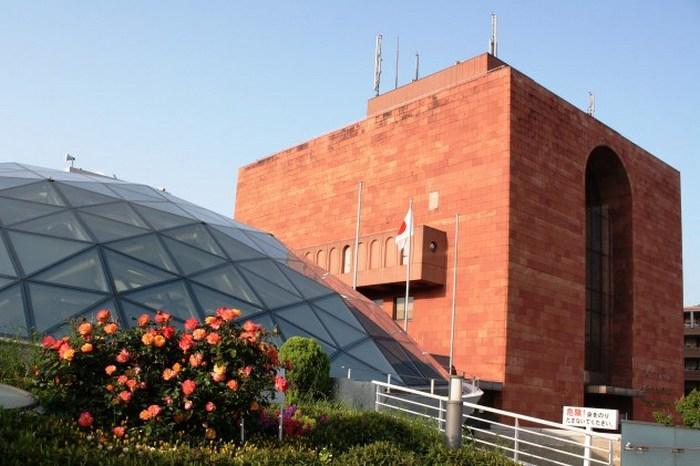 Музей атомной бомбы, Нагасаки, Япония.