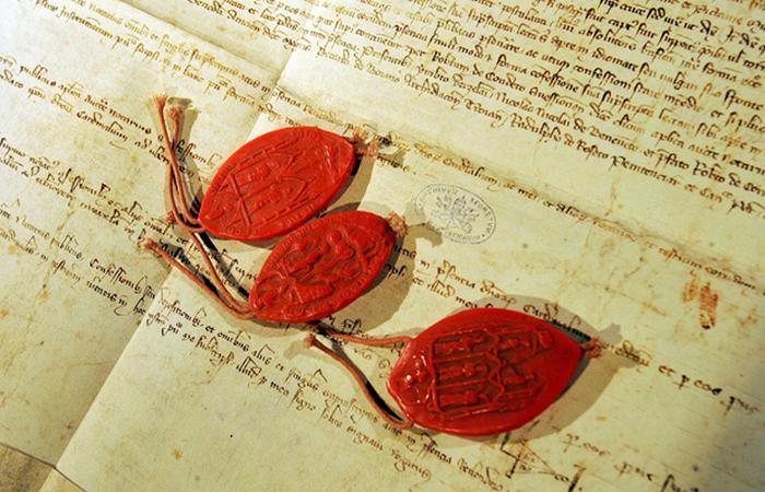 Секретные архивы Ватикана, Ватикан, Италия.