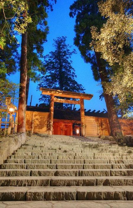 Храм Исэ, Япония.