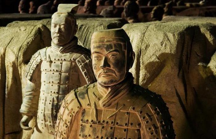 Гробница Цинь Шихуанди, Китай.