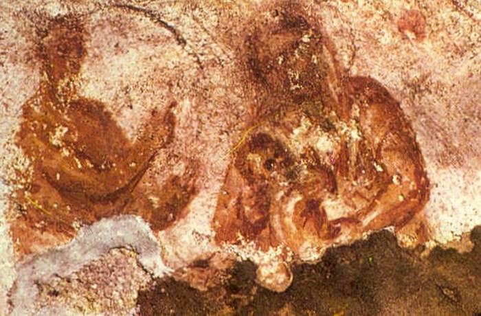 Раннее изображение Христа: Мадонна с младенцем.