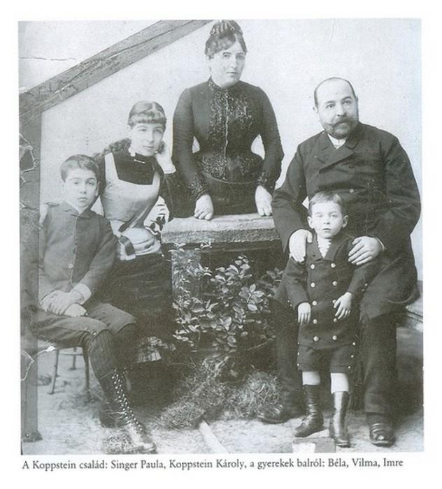 Семья Копштейн.