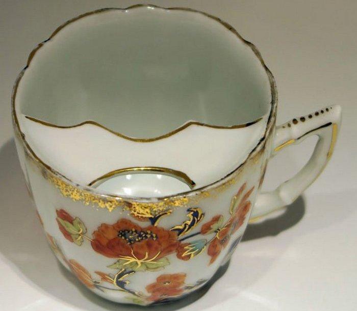 Чашки для усов из Тиршенройта, 1880 год.