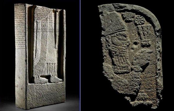 Древние проклятие: фрагменты ассирийской стелы. / Фото: listverse.com