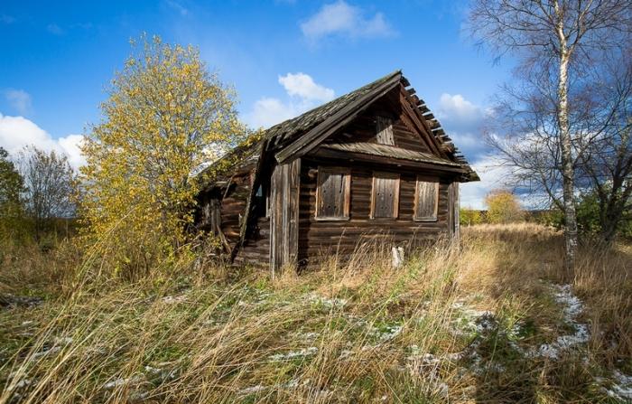 Остатки дома 19-го века.