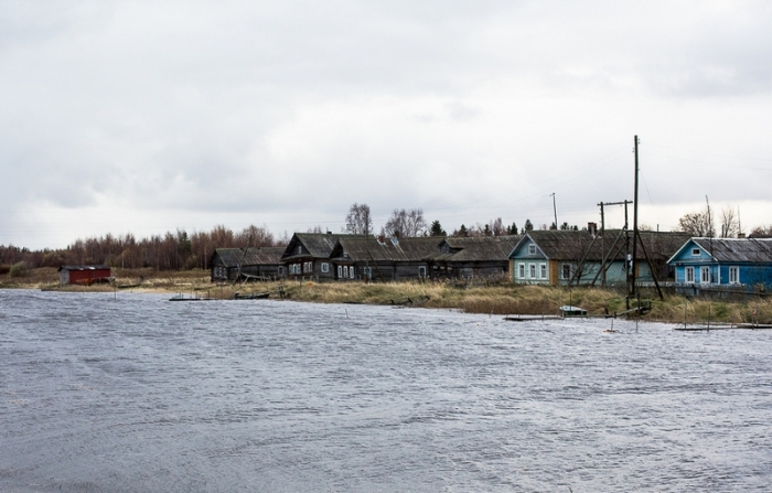 Поморская деревня Вирма.