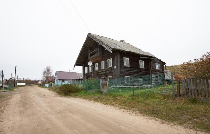 Деревня Маньга.