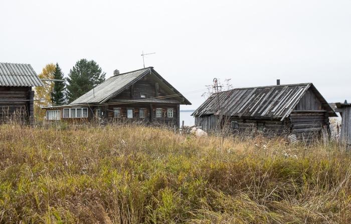 Деревня Кочура, расположенная недалеко от города Пряжа.