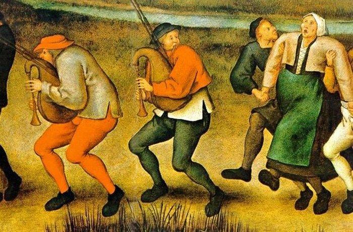 Танцевальная чума - неразгаданная тайна Средневековья.