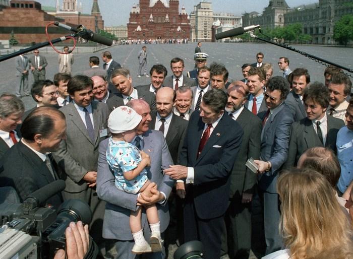 Встреча лидеров СССР и США и другие знаковые события 1988 года.