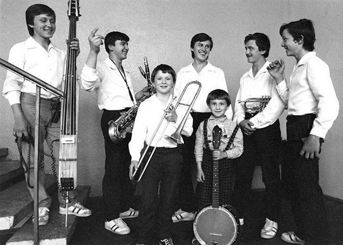 Музыкальная группа Семь Симеонов.